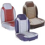 B & M Deluxe High Back Boat Seat