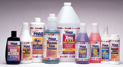 Captain Phab Marine Care Products