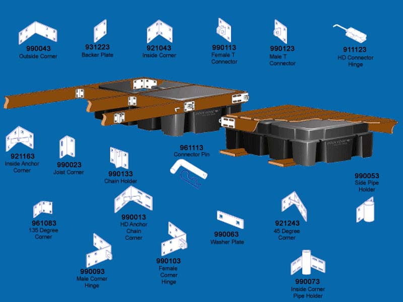 WD Laz: Free Wooden dock plans