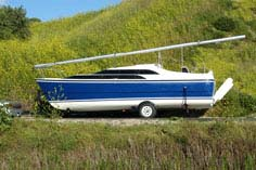 Boat on Trailer